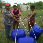 Rooigrond residents receive new Hippo rollers