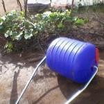 rooigrond veg-garden using hippo roller