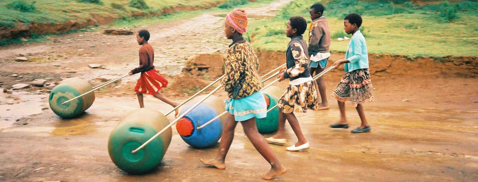 Hippo Roller used by kids in rural areas