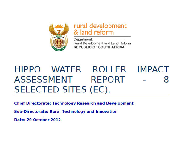 Eastern Cape Impact Assessment Report