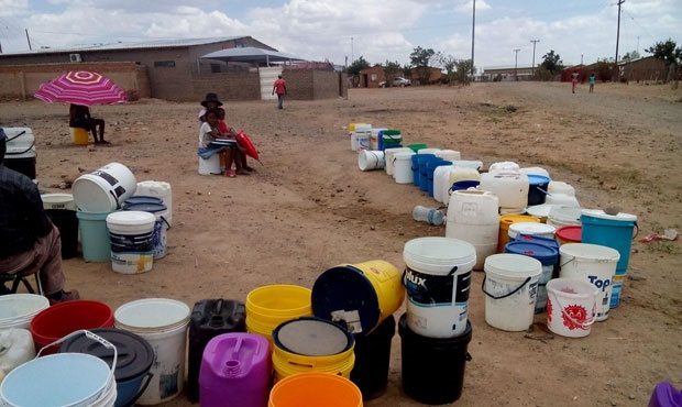 Drought-stricken Free State towns face long queues and insufficient drinking water
