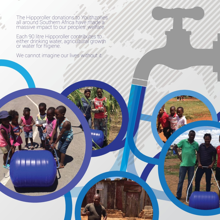 Report: YouthZones - Hippo Roller distribution - January 2016