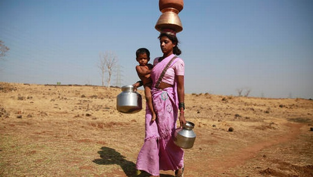 63 percent of rural India do not have drinking water source