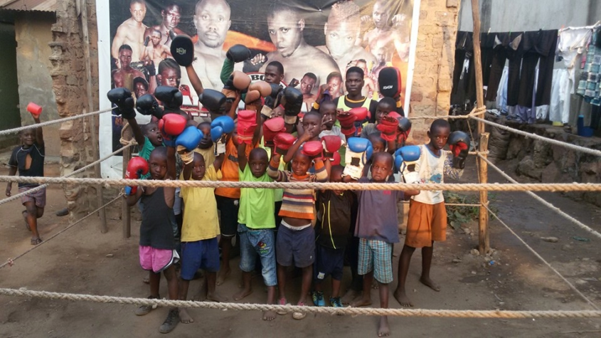Welcome to the Za-na Junior Boxing Academy Hippo Roller Fundraising page