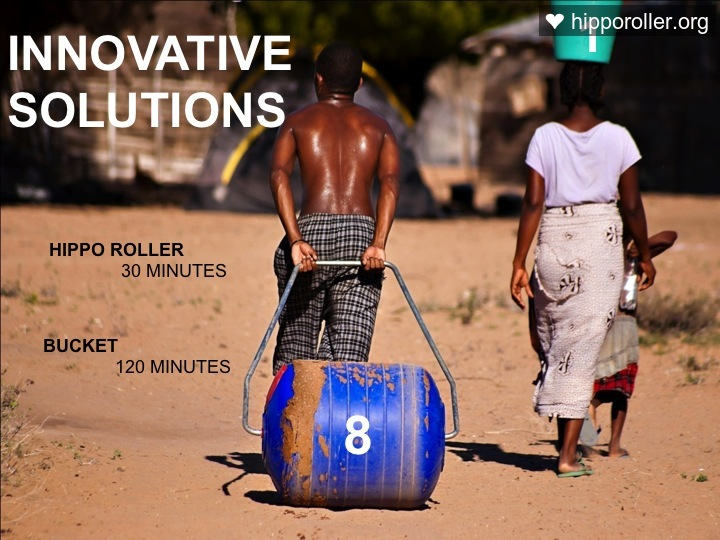 This is an excellent article using the Hippo Water Roller as an example to define innovation