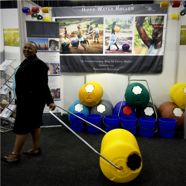 Hippo Roller exhibition stand