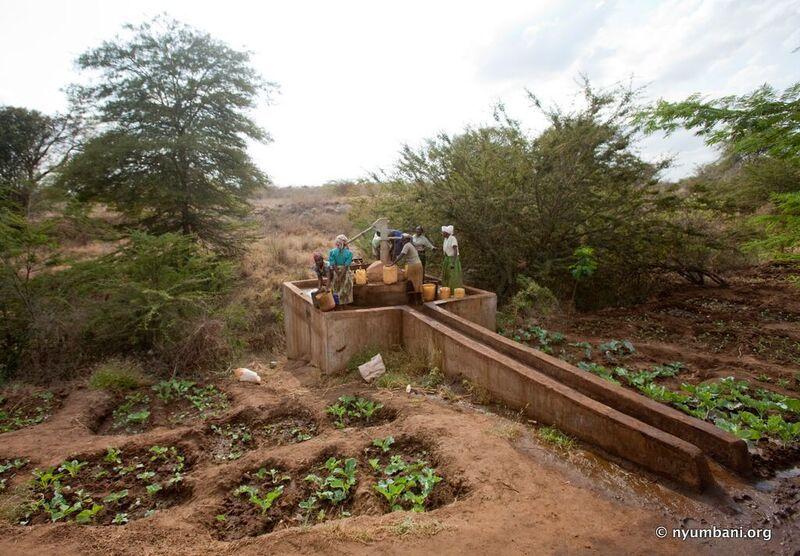 Kenyan Women Nyumbani Village