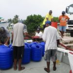 KADA Marshall Islands Hippo Rollers filling water