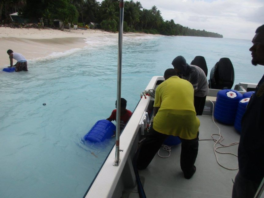 KADA Marshall Islands Hippo Rollers float Bikeej