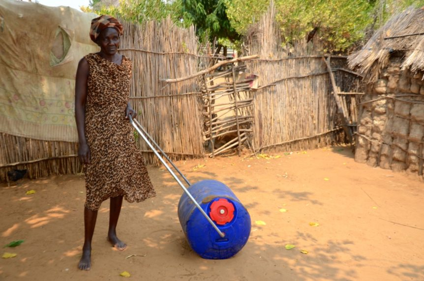 woman small scale farmer northern namibia